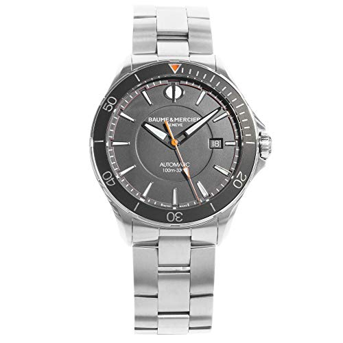 Baume et Mercier Clifton Black Dial Automatic Mens Watch MOA10340
