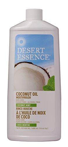 Desert Essence Coconut Whitening Mouthwash