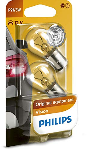 Philips Vision – Kogellamp P21/5W – 12v – wit