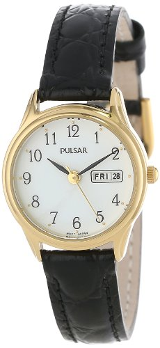 Pulsar Women's PXU012 Gold-Tone Stainless Steel Watch ()