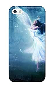 Cute Appearance Cover/tpu TmFVPIX13054FYwyo Dancing Forest Angel Case For Iphone 5/5s
