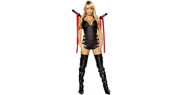 Amazon.com: Sexy Ninja Costume, Ninja Assassin s Costume ...