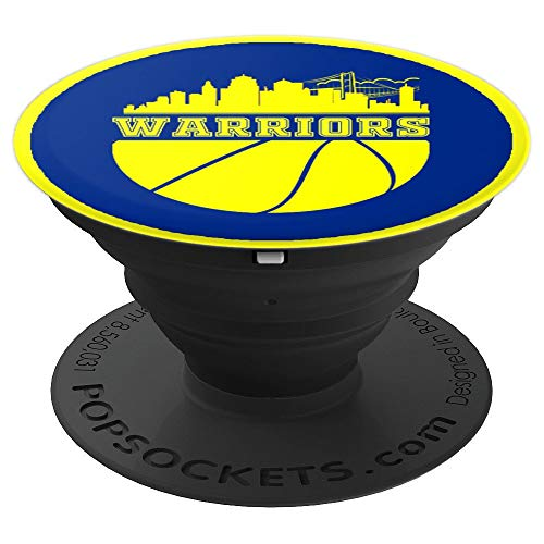 Golden State Distressed Basketball Team Fan warrior cool - PopSockets Grip and Stand for Phones and Tablets