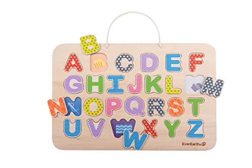 EverEarth Magnetic Alphabet 33739 Puzzle (26 Pieces)