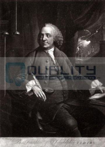 Benjamin Franklin Portrait [16 x 20 - Invention Franklin Bifocals Benjamin