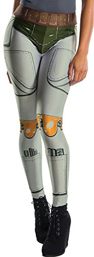Rubie's Costume Co. Men's Adult Star Wars Boba Fett Costume Leggings,As/Shown,One Size