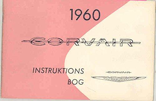 1960 Chevrolet Corvair ORIGINAL NOS Owner's Manual Denmark Export Danish Danish Export