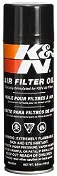 K&N 99-0504 Air Filter Oil - 6.5oz- Aerosol