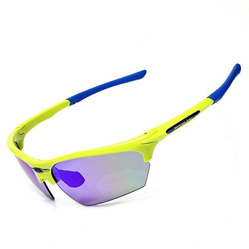 légères couleur fluorescente sports marathon Lunettes soleil de de plein CHshop anti dérapantes ultra air ZqY71xw