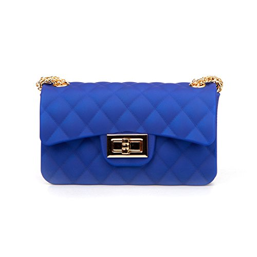 Fashion Womens Blue and Purse Chic Daypacks Girls Backpack Leather Small Mini 6 tnqHwg