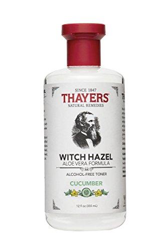 Price comparison product image Thayers Witch Hazel Cucumber Face Toner. 12 Fluid Ounce Alcohol-Free Facial Mist with Aloe Vera Formula. Skin Care Essentials