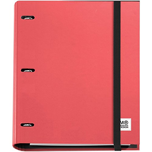 3-ring-refillable-binder-100-sheets-of-paper-red
