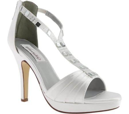 Dyeables Womens Riley B00SH4WK1I 6 B(M) US|White Satin