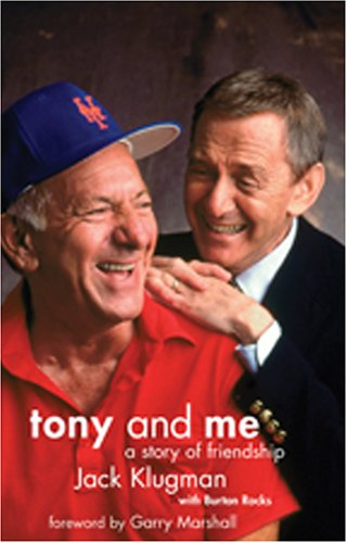 Tony and Me: A Story of Friendship, with DVD of ''The Odd Couple'' out-takes, 1971-75 by Brand: good hill press
