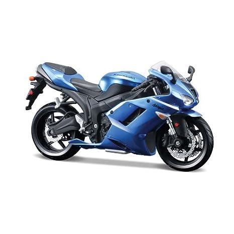 Tobar Maisto Kit Modelo - Kawasaki Ninja ZX-6R Motobike - 1:12 de la Escala - RT39155 - Nuevo