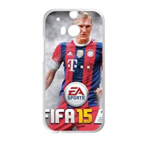 HTC One M8 Cell Phone Case White FIFA 15 9 F6S3JH