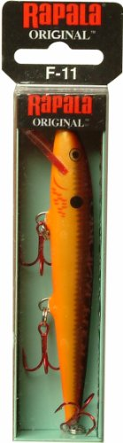 Rapala Original Floater 11 Fishing lure (Bleeding Copper Flash, Size- 4.375), Outdoor Stuffs