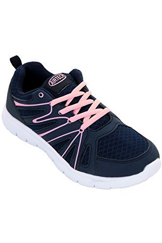 Sapphire TIENDA Mujer Acolchado Malla Neón Zapatillas Con Cordones Zapatillas de deporte Plano Deporte Zapatos: Amazon.es: Zapatos y complementos