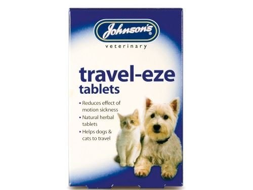 (12 Pack) Johnson's Vet Travel Tablets for Dogs 12 Capsules