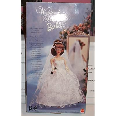 Barbie in Wedding Dress Re-Issue of the Original 1961 Fashion Doll: Toys & Games