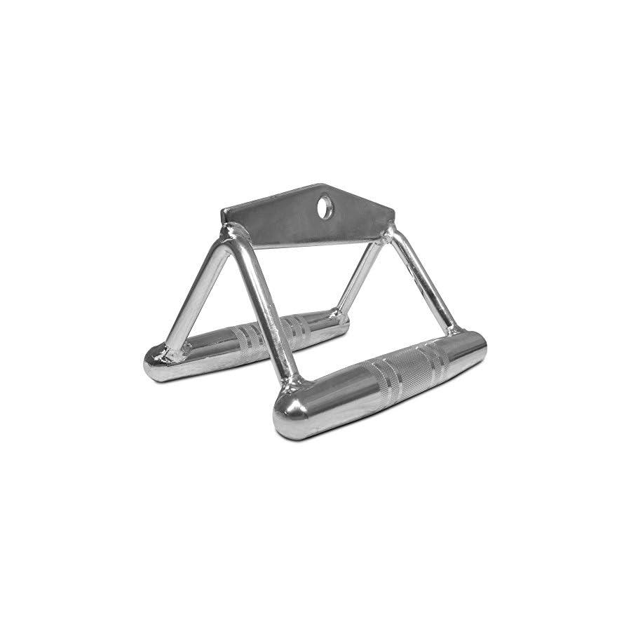 Titan Chrome Close Grip Row Lat Pull Down Bar Strength Training