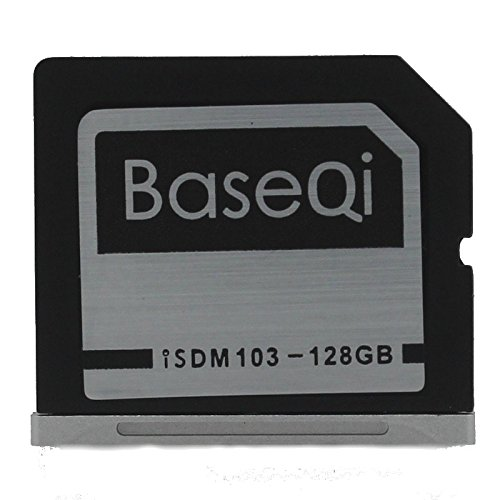 BASEQI NinjaDrive Aluminum 128GB Storage Expansion Card for