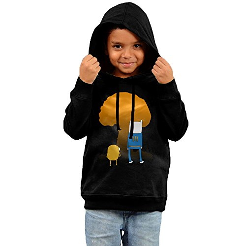 Price comparison product image 2016 Fallout Time Cool Hoodies Black Sweatshirts For Your Kid