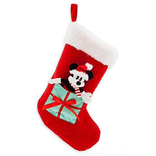 Disney Mickey Mouse Plush Holiday Stocking
