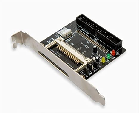 Syba IDE/PATA to CF Adapter with Bracket Connects Compact Flash to 2 5  3 5-Inch IDE Host Interface Hard Drive SD-CF-IDE-BR