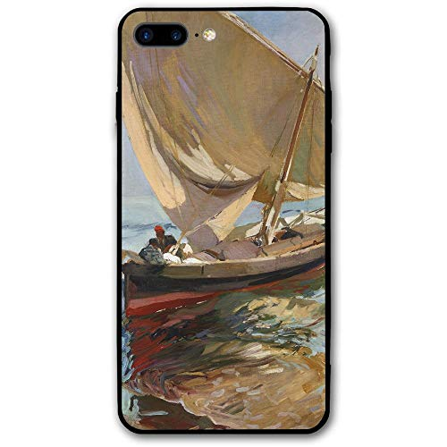 5.5Inch iPhone 8 Plus Case Ship Painting Anti-Scratch Shock Proof Hard PC Protective Case Cover
