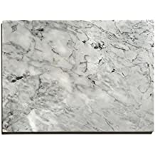 "Kota Japan Premium Non-Stick Natural Marble Pastry Board Slab 12"" X 16"" with No-Slip Rubber Feet for Stability and to Protect your Countertop 