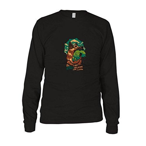 Super Mutant Dog - Herren Langarm T-Shirt, Größe: XXL, Farbe: schwarz