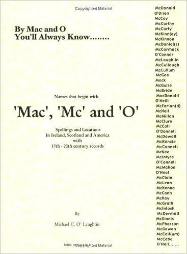 mc vs mac scottish or irish