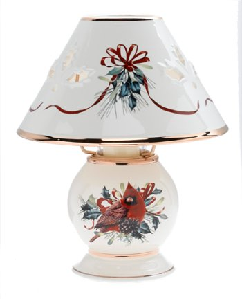 Lenox Winter Greetings Candle Lamp