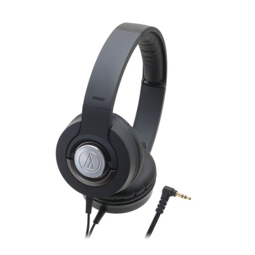 Audio Technica Solid Bass ATH-WS33X Closed-back Dynamic Headphones, Black by Audio-Technica