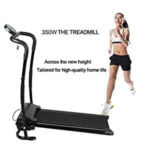350W Mini Household Running Machine/Multifunctional Electric Treadmill/Training Fitness Sports Equipment