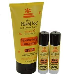 The Naked Bee SPF 30 Vitamin C Moisturizing UVA & UVB