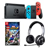 Nintendo Switch Lucid LEGO Marvel Super Heroes 2 Bundle with LucidSound LS20 Gaming Headset