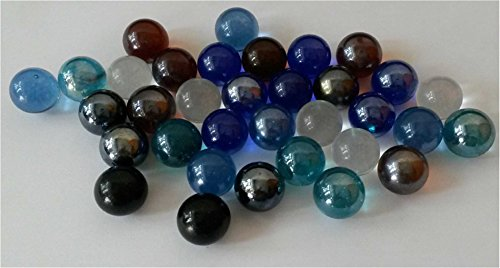 Bulk Colored Marbles : Poplay pcs player marbles bulk for marble games