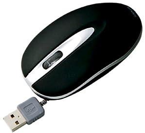 MA-MA2 ケーブル巻取り収納光学式マウス