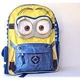 "Universal Minion 16"" Bob Kevin Stewart Backpack for Kids Back to School Bag - Regular"