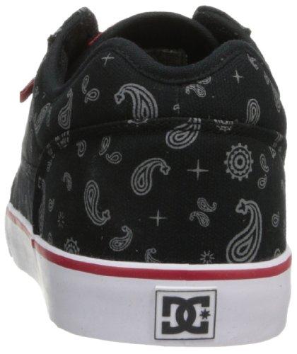 DC Mens Tonik SP Lace-Up Sneaker Black/White/True Red uRx1c