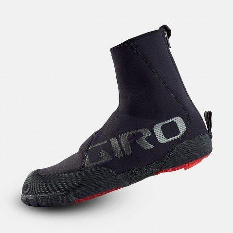 Giro Proof ウィンターMTBシューズカバー&Etip Lite グリッパーグローブバンドル Large ブラック B01CIE5CLC