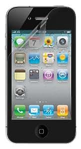 Belkin F8Z678tt3 Mica Protectora de Pantalla para IPhone, transparente, paquete de 3 Pizas.