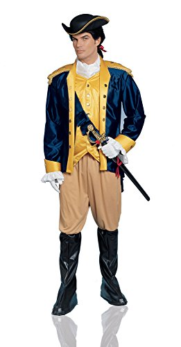 (Costume Culture Men's Patriot Costume, Blue,)