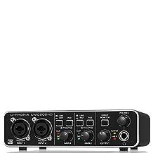 Behringer UMC202HD U-Phoria USB Audio Interface with MIDAS Microphone Preamplifiers