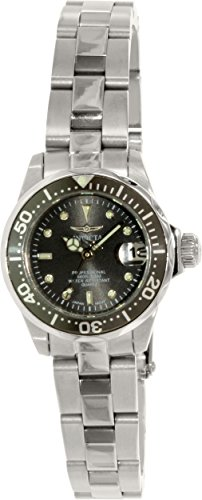 Invicta Women's 14984 Pro Diver Analog Display Swiss Quartz Silver Watch