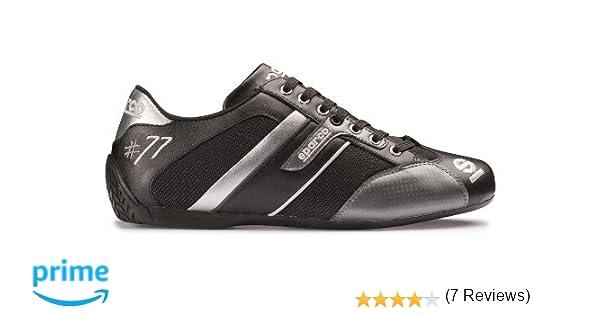 Sparco S00120436NRGR Time 77 Zapatillas, Negro/Gris, 36: Amazon.es: Coche y moto