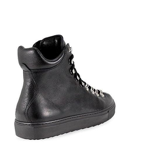 DSQUARED2 Top Hi W17SN117015M084 Herren Sneakers Schwarz Leder UnrqaCgUw