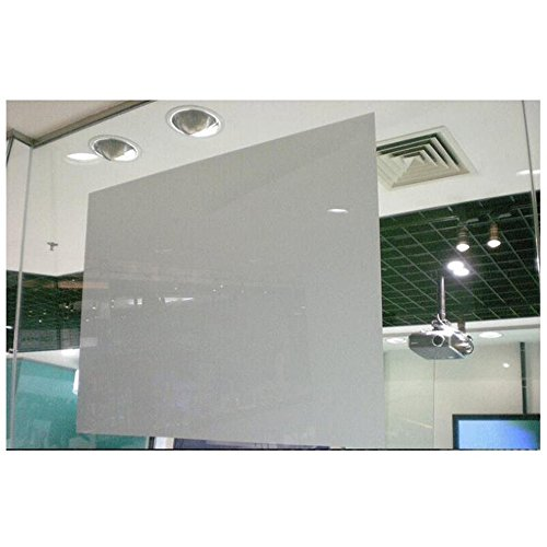 HOHO Light Grey Screen Material Film Rear Holographic Projection Glass Sticker 152cmx100cm by HOHO